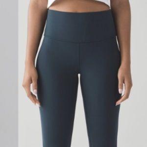 Lululemon Teal/dark green align legging
